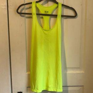 Nike neon workout tank